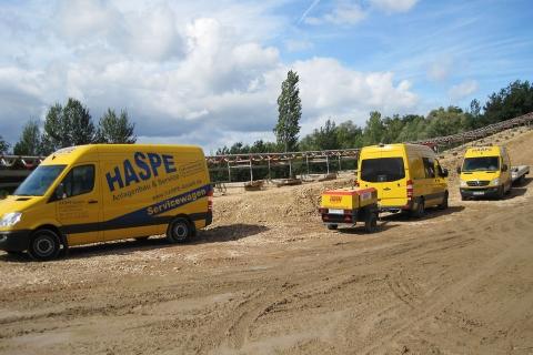 HASPE Servicefahrzeuge im Einsatz