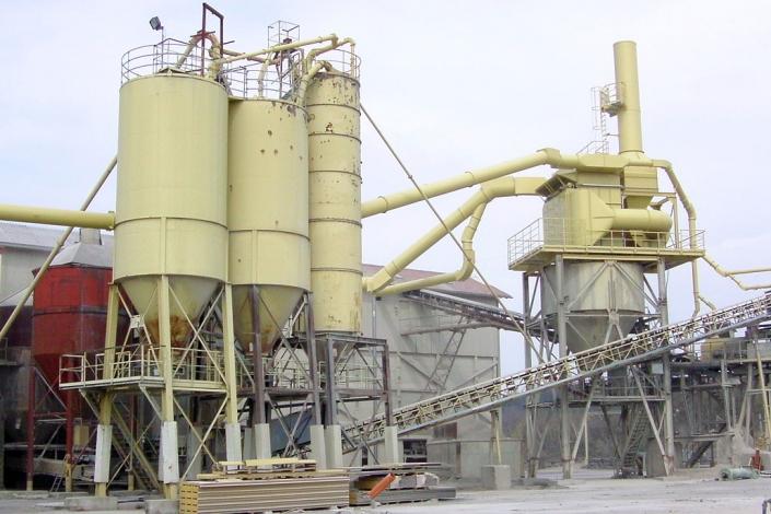 Montagerahmen für Filteranlage, Steinbruch Mertz aus Heimsheim