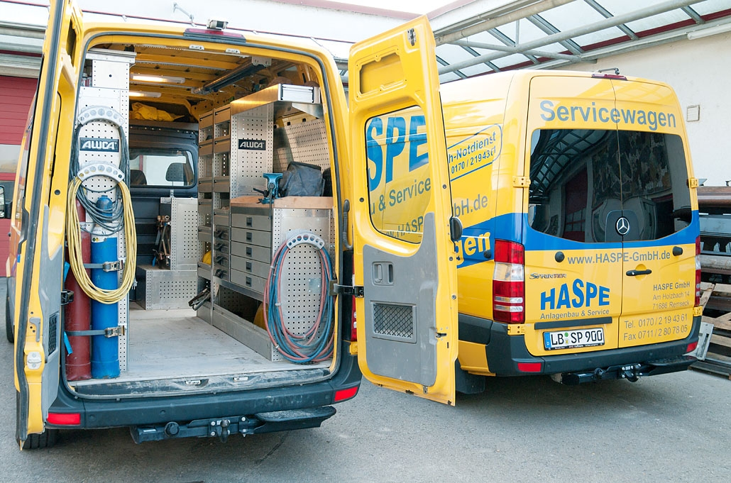 HASPE Servicefahrzeuge / Mobile Werkstatt