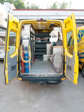HASPE Servicefahrzeug / Mobile Werkstatt