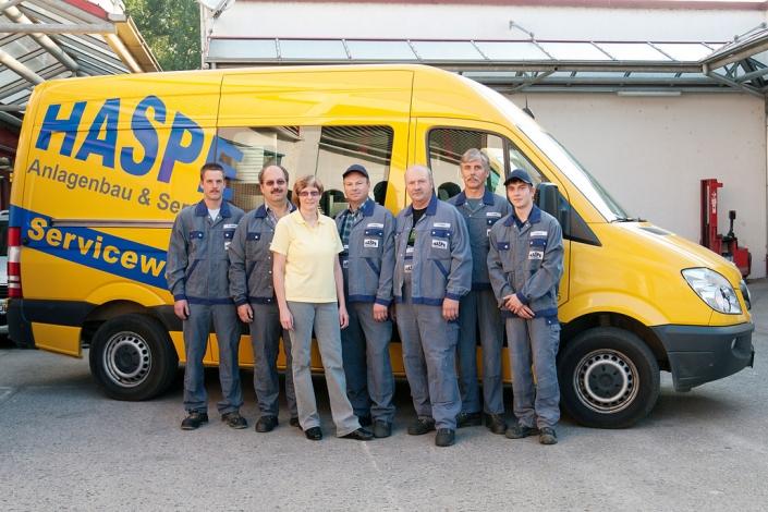 Das HASPE Team